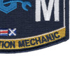 CM Construction Mechanic Rating Patch Seabee | Lower Right Quadrant