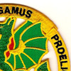 Chemical School Dragon Patch Elementis Regamus Proelium | Upper Right Quadrant