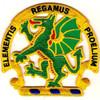 Chemical School Dragon Patch Elementis Regamus Proelium