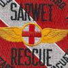 CG SAR Sarwet Sea Air Rotary Wing Evac Team Diver Patch | Center Detail