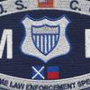 CG-Maritime Law Enforcement Specialist Patch | Center Detail