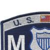 CG-Maritime Law Enforcement Specialist Patch | Upper Left Quadrant