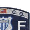 CG-Maritime Law Enforcement Specialist Patch | Upper Right Quadrant