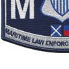 CG-Maritime Law Enforcement Specialist Patch | Lower Left Quadrant