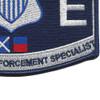 CG-Maritime Law Enforcement Specialist Patch | Lower Right Quadrant