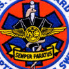 CG Helicopter Rescue Swimmer Patch | Center Detail