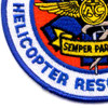 CG Helicopter Rescue Swimmer Patch | Lower Left Quadrant