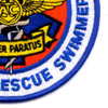 CG Helicopter Rescue Swimmer Patch | Lower Right Quadrant