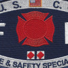 CG-Fire & Safety Specialist Patch | Center Detail