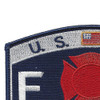 CG-Fire & Safety Specialist Patch | Upper Left Quadrant