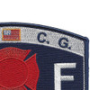 CG-Fire & Safety Specialist Patch | Upper Right Quadrant
