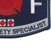 CG-Fire & Safety Specialist Patch | Lower Right Quadrant