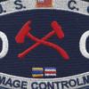 CG-Engneering Rating Damage Controlman Patch | Center Detail