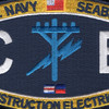 CE Construction Rating Construction Electrician Patch | Center Detail