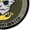 C Company 2nd Battalion 227th Aviation Attack Recon Regiment Patch | Lower Right Quadrant