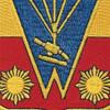 674th Airborne Field Artillery Battalion Patch - B Version | Center Detail