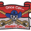 Cavalry Guide On Once Cav...Always Cav Flag Patch | Center Detail