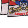 Cavalry Guide On Once Cav...Always Cav Flag Patch | Lower Left Quadrant