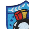Carrier Air Wing-19 Patch   Upper Left Quadrant