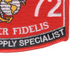 6672 Aviation Supply Specialist MOS Patch | Lower Right Quadrant