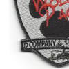 D Company 1-501st ARB Aviation Patch Hook And Loop   Lower Left Quadrant