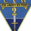 Carrier Air Wing 2 Patch - CVW-2 | Center Detail
