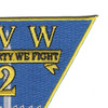 Carrier Air Wing 2 Patch - CVW-2 | Upper Right Quadrant