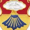 67th Infantry Regiment Patch   Center Detail