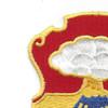 67th Infantry Regiment Patch   Upper Left Quadrant