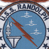 CVS-15 USS Randolph Patch | Center Detail