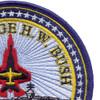 CVN-77 USS George H W Bush Patch   Upper Right Quadrant