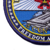 CVN-77 USS George H W Bush Patch   Lower Left Quadrant