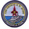 CVN-77 USS George H W Bush Patch