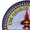 CVN-77 USS George H W Bush Patch   Upper Left Quadrant