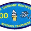 CVN-71 Theodore Roosevelt Patch Autodog Centurion 100 | Center Detail