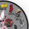 CVN-70 Carl Vinson Cvw-9 Patch Westpac 2003 | Upper Right Quadrant