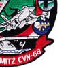 CVN-68 USS Nimitz Patch Westpac 2005   Lower Right Quadrant