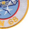 CVN-68 USS Nimitz Patch - Version N   Lower Right Quadrant