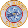 CVN-68 USS Nimitz Patch - Version N