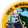 CVE-92 USS Windham Bay Patch 1944-46 1950-59   Upper Left Quadrant