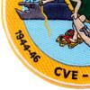 CVE-92 USS Windham Bay Patch 1944-46 1950-59   Lower Left Quadrant