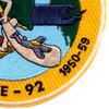 CVE-92 USS Windham Bay Patch 1944-46 1950-59   Lower Right Quadrant