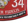 6534 Aircraft Ordnance Technician F-4/RF-4 MOS Patch   Lower Right Quadrant