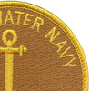 Brown Water Navy Vietnam Patch | Upper Right Quadrant
