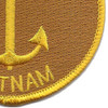 Brown Water Navy Vietnam Patch | Lower Right Quadrant