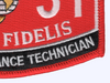 6531 Aircraft Ordnance Technician MOS Patch | Lower Right Quadrant