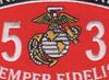 6531 Aircraft Ordnance Technician MOS Patch | Center Detail