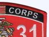 6531 Aircraft Ordnance Technician MOS Patch | Upper Right Quadrant