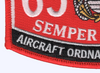 6531 Aircraft Ordnance Technician MOS Patch | Lower Left Quadrant