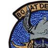 Boat Det 5 United States Naval Coastal Warfare Patch | Upper Left Quadrant